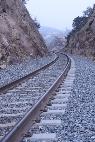 Tracks, Simi Valley, California.