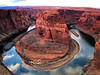 Horse Shoe Bend in the Colorado River, Glen Canyon, Arizona