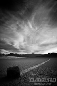 Sunset at Racetrack Playa Death Valley, California #1345