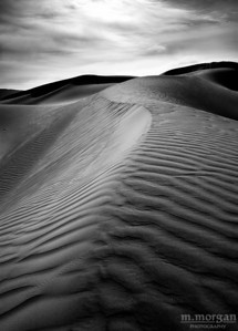 Death Valley Dunes II Death Valley, California #S150-15-11bw