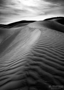 Death Valley Dunes II Death Valley, California #S150-15-11bw
