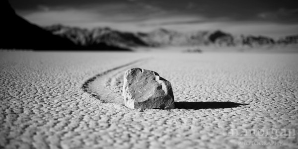 S180-1166 Lone Rock at Racetrack Playa