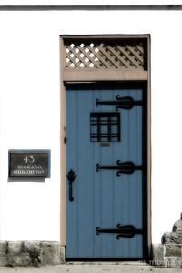 S155- 1558c St Augustine Blue Door
