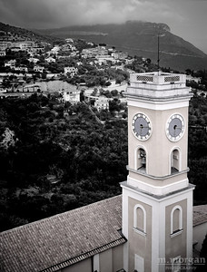 Church at Eze Eze, France #S119-4-22