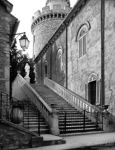 Abbey Stairway Frigolet, France #S119-2-28
