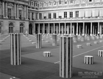 Palais Royale Courtyard Paris, France #S119-23-13