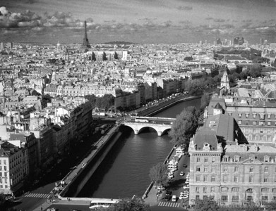 View of the River Seine Paris, France #S119-24-14