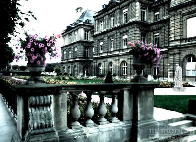 Jardin du Luxembourg Paris, France #S119-11-4c