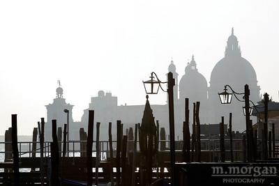 Venice Silhouette Venice, Italy #S163-6938