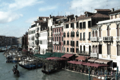 Grand Canal Venice, Italy #S163-0941c