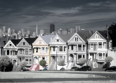 Painted Ladies San Francisco, California #S141-5-8c