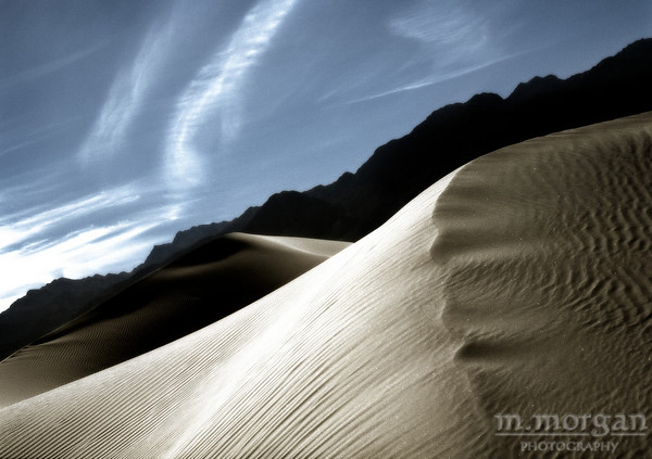 Crooked Dunes Death Valley, California #S157-7-15c