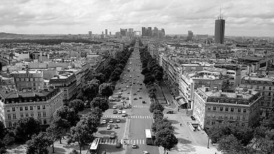Paris wall art, Champs Elysees