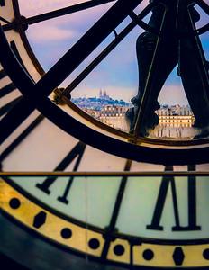 Mont Martre, Paris photo print