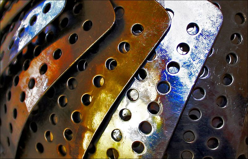 Holes in Metal