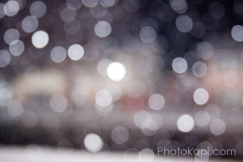 Blurry Snowfall