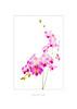 Orchid Cascade Card Draft psd