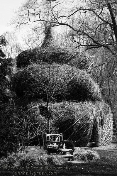 The Summer Palace: Created by Patrick Dougherty