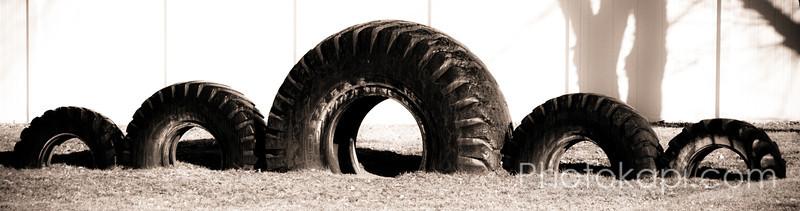 Tire Sea Monster