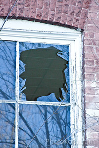 Profile in Shattered Window