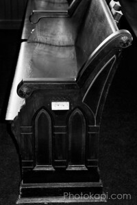 Double Arched Pew