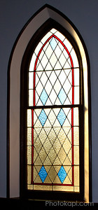 Gothic Stained Glass Window