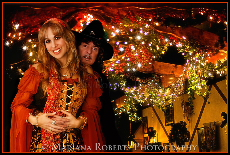 Blackmore's Night Fan Fan Appreciation Show at The Village Lanterne December 4th, 2010. Mariana Roberts Photography, Family Portrait Studio, Children Photography, Fairy Photography, and Wedding Photography in Central New York.