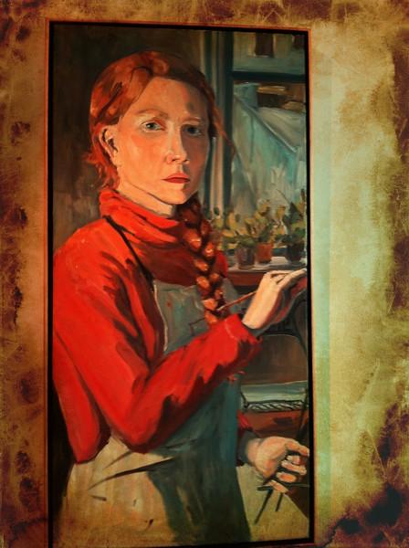 Self Portrait by Alyce Grunt