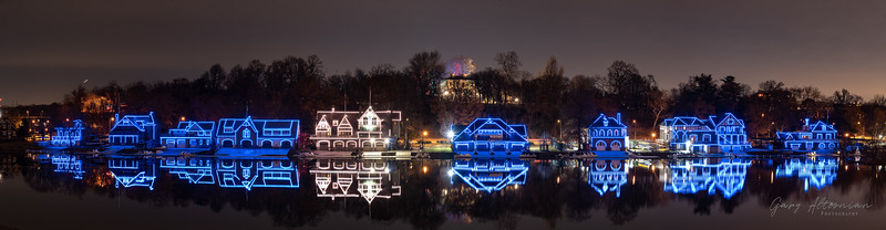 Boathouse Row Celebrates Hanukkah