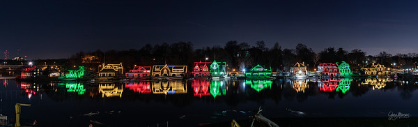 Boathouse Row Celebrates Christmas