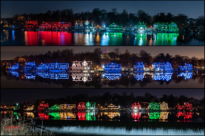 Happy Holidays - Boathouse Row Style
