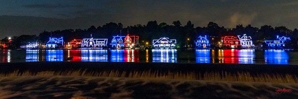 Boathouse Row Celebrates the 4th of July