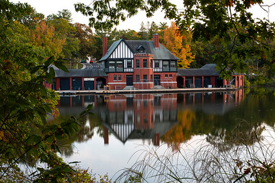 Roger Williams Park Boat house