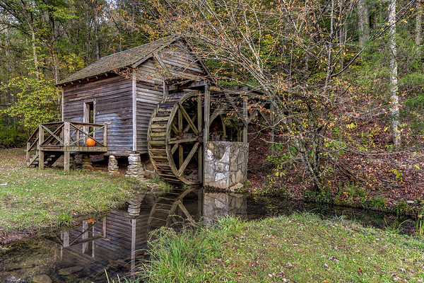 Grist Mill at Big Ridge State Park