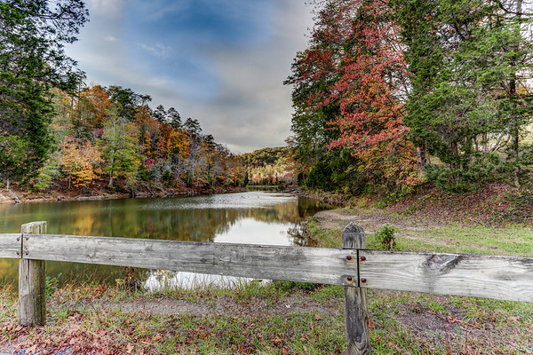 Norris Lake at Big Ridge State Park