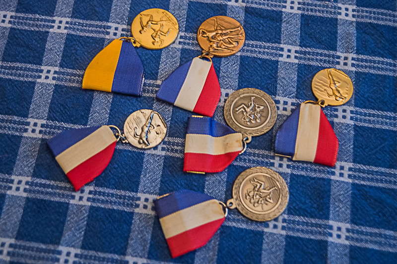 Gold & Silver Medals
