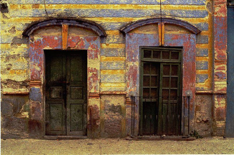 F013  Mexican Doors, Dolores Hidalgo, Mexico