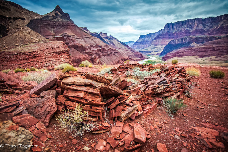 Anasazi life from above