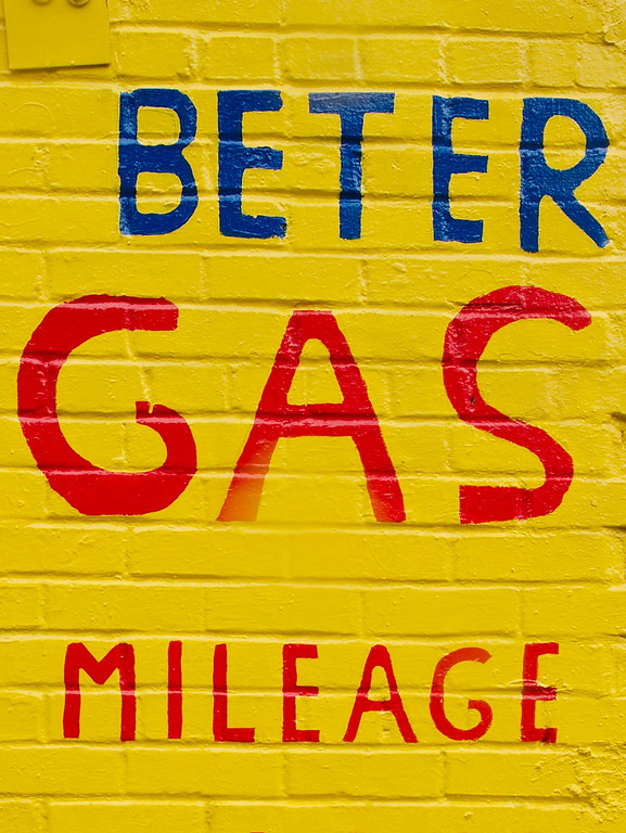 Gas mileage wall art 1