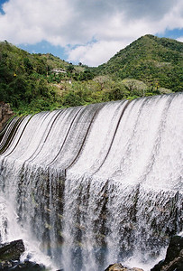 Bayomon River Dam 2009  Puerto Rico