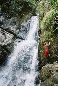 Climbing in Puerto Rico 2008  El Yunque Rainforest Puerto Rico