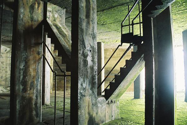 Strange Stairs 2008  Bayomon River Dam