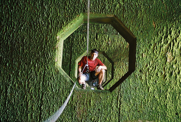 Self Cut Out 2009  Inside Bayomon River Dam, Puerto Rico