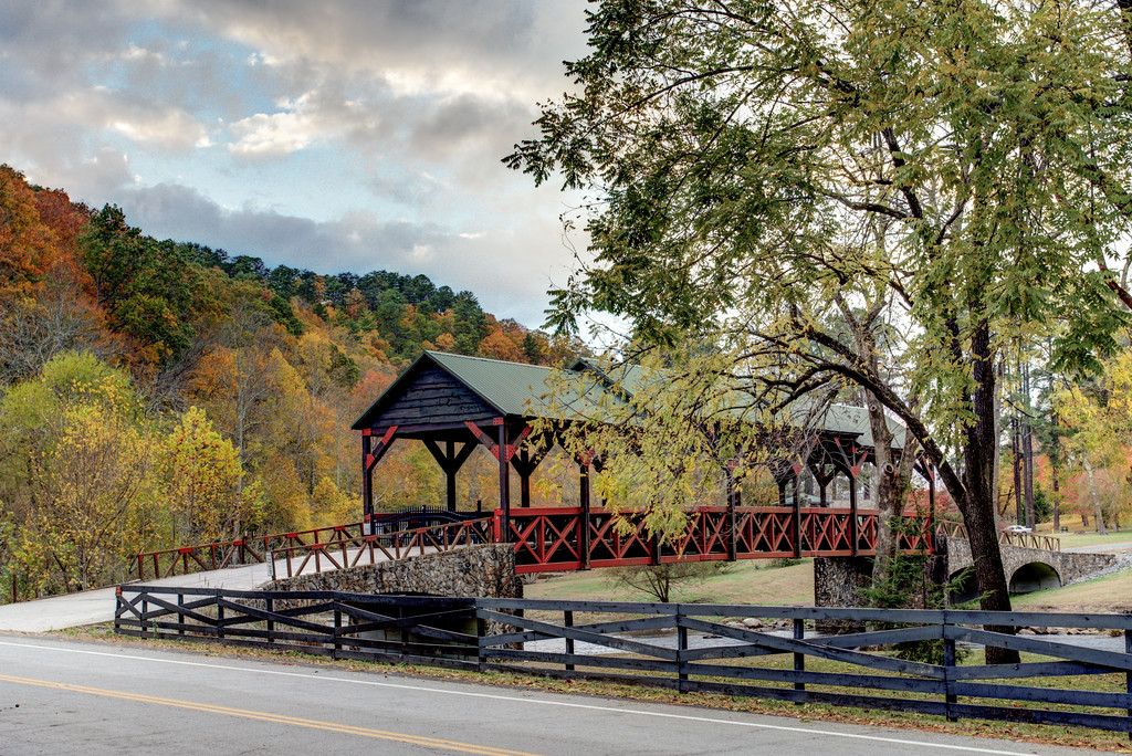 Private Covered bridge near Tellico Plains