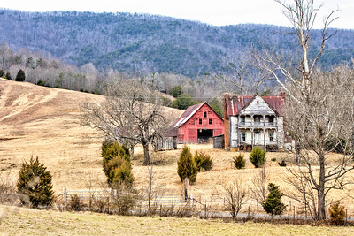 Walker/Ellis house in Grainger County TN 1
