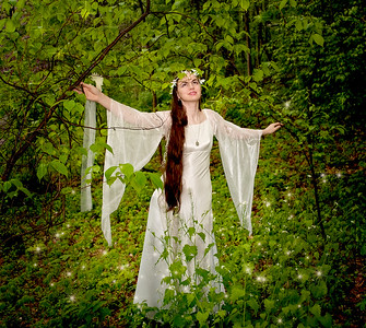 Goddesses and Photographic Art by Mariana Roberts Photography. Bride in the Forest. Goddess in the Enchanted Forest High Fashion Photography and Fantasy Art. High Fashion and Fantasy Photography Upstate New York and Syracuse New York. Beautiful Models and High Fashion Photography in NY. Fashion Art Models Photography. Beautiful Art Women Model Photography. Fantasy Art Photography and Photographic Art. Artistic Fantasy Photography by Mariana Roberts Photography in Liverpool NY. Celestial Goddess Fantasy Art and Photography in High Fashion Photography and Photographic Art.
