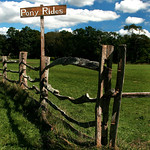 Pony Ride Sign