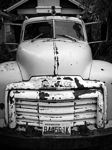 1950 GMC 2 Ton Truck - Wedgwood neighborhood, Seattle, Washington, 2009.