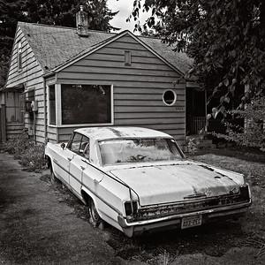 1963 Oldsmobile 88. Seattle, Washington, 2010.