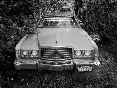 1975 Ford Galaxy sedan, Seattle, Washington, 2009